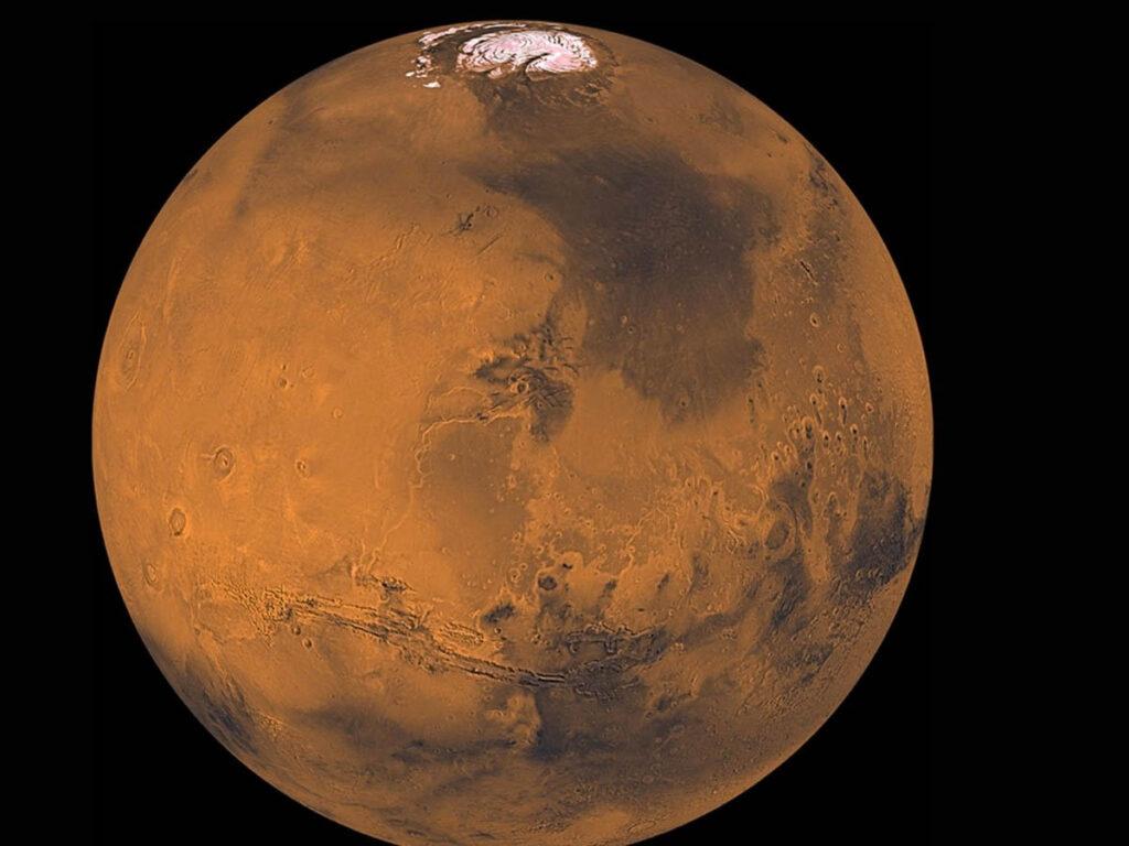 Exploração no planeta Marte - China