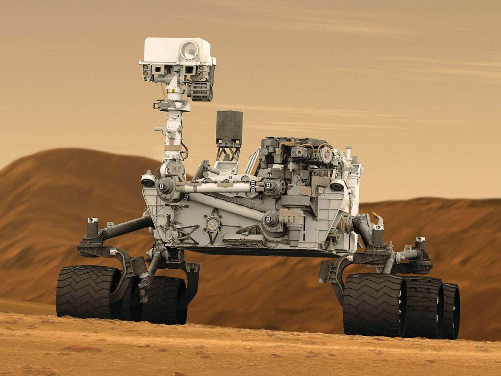 Exploração no planeta Marte - EUA/NASA
