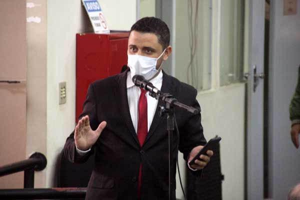 Vereador presidente da Câmara Weverton Andrade: autor de anteprojeto para criação do conselho anti-corrupção