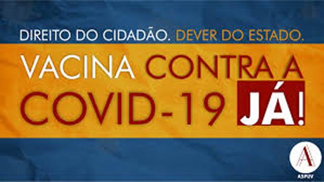 Dever do Estado (governos Federal, Estadual e Municipal): povo espera regularização na continuidade da vacinação que agora depende de Brasília