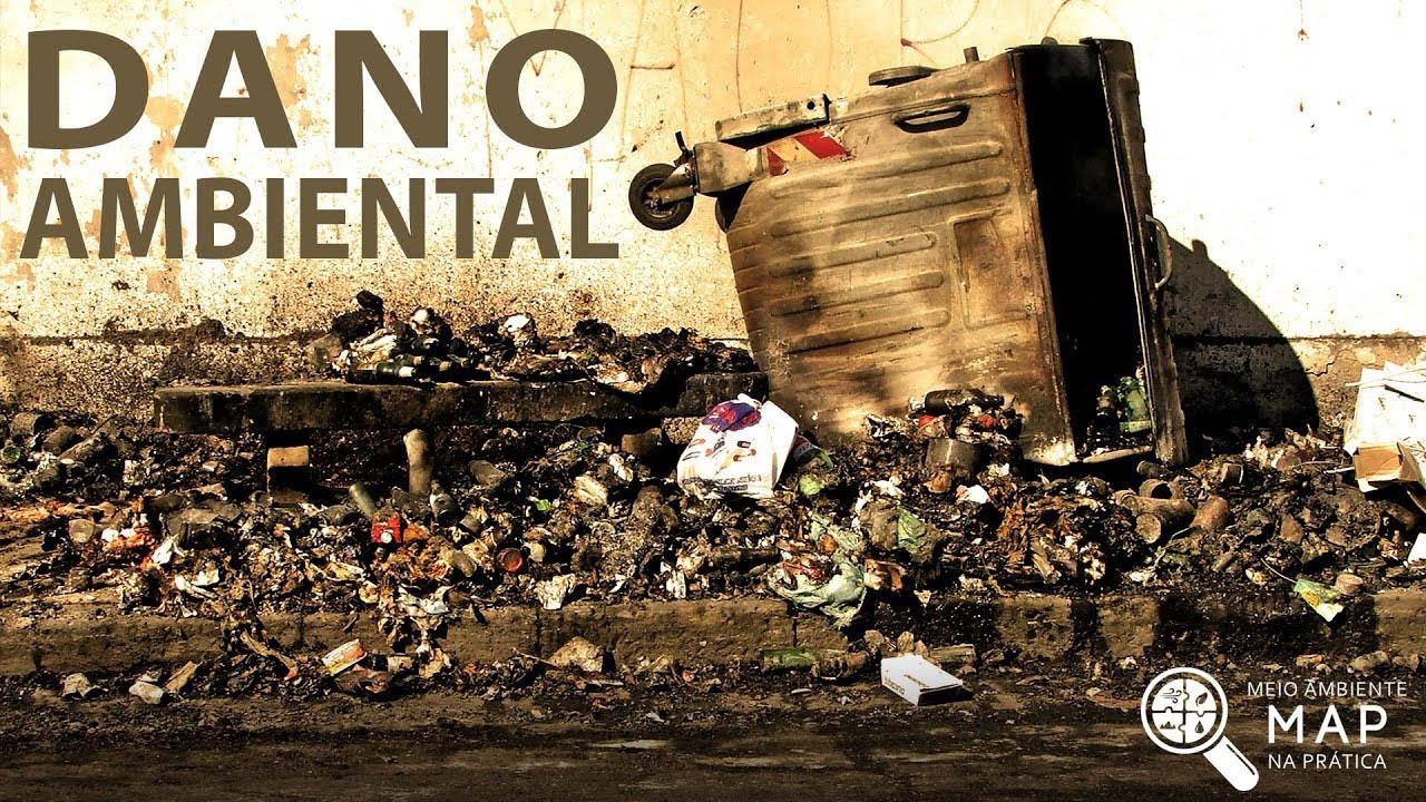 Exemplo de dano ambiental que afeta diretamente a natureza que o ser humano ainda não avaliou nem evitou