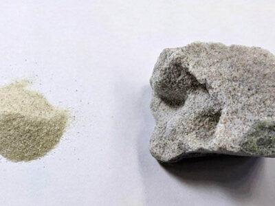 : A nova técnica une diretamente as partículas de areia, sem precisar de cimento