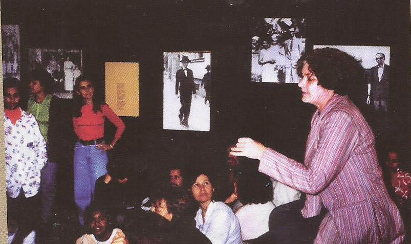 Diretora, professora, museóloga a polivalente Incerti também ministrou oficinas para estudantes e estudiosos itabiranos