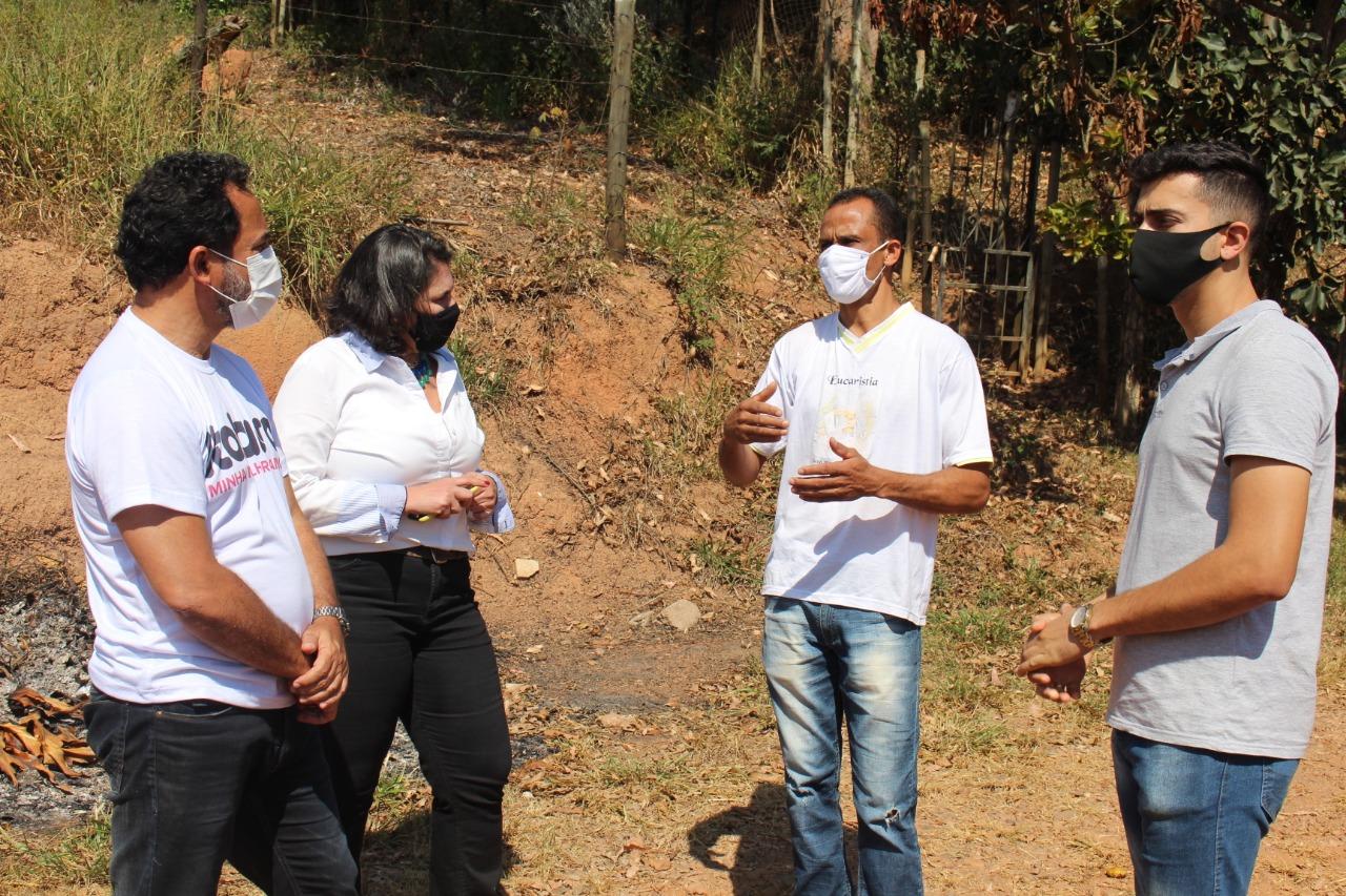 Falta tudo no Bairro Barro Branco: água, drenagem asfáltica, áreas de esporte e lazer, segundo moradores da região(Foto Coord. Com. Social/PMI)