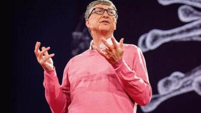 Bill Gates, a quarta maior riqueza do mundo, tem base para anunciar o fim da pandemia, mas ele também faz alertas pontuais sobre possíveis novas pandemias (Foto: Divulgação)