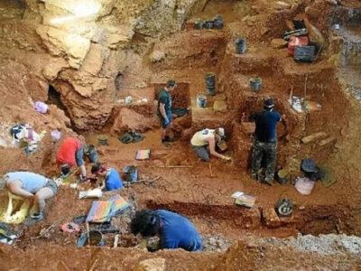 As escavações eram, a princípio, acidentais, mas levaram a um estudo aprofundado sobre a população numerosa encontrada na Gruta Guattari