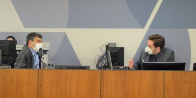 Comissão de Minas e Energia da Assembleia Legislativa de Minas Gerais: presenças do deputado Bernardo Mucida, do prefeito José Fernando e do consultor Waldir Salvador
