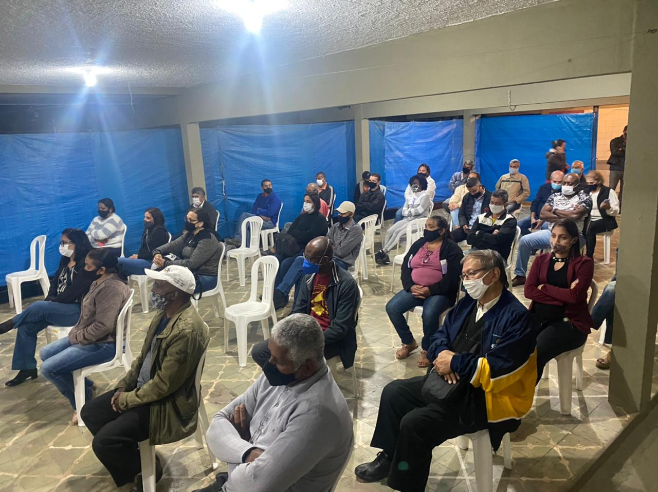 Quatro moradores da região dos bairros Bela Vista e Nova Vista fazem parte do Comitê para discutir descomissionamento da Barragem do Pontal (Foto: Coord. Com. Social - PMI)
