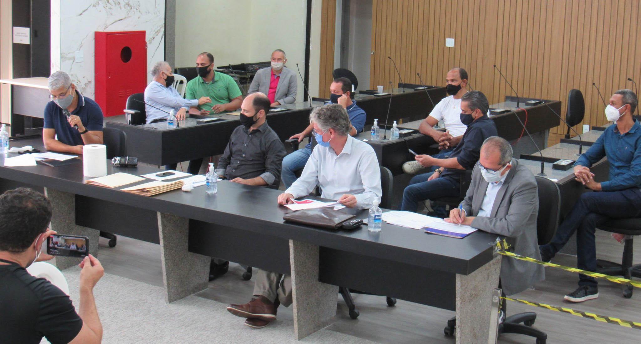 Reunião de comissões da Cãmara com secretários municipais é novidade em Itabira