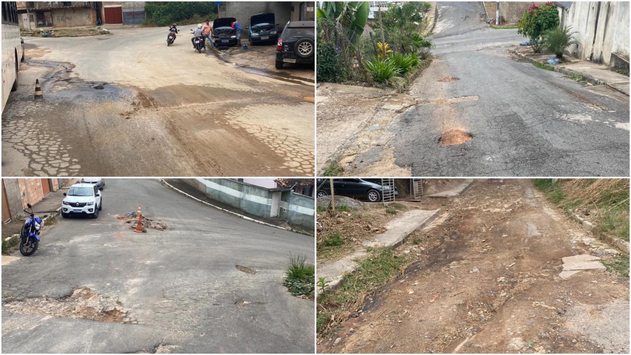 Assessoria de Comunicação Social e Secretaria de Obras da Prefeitura de Itabira mostram uma parte do caos que domina a região periférica de Itabira: ruas do Bairro Machado, Gabiroba e falta de infraestrutura geral