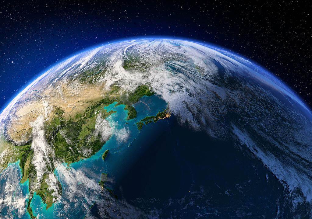 O Hemisfério Pacífico esfriou cerca de 50 K a mais que o Hemisfério Africano durante os últimos 400 milhões de anos.