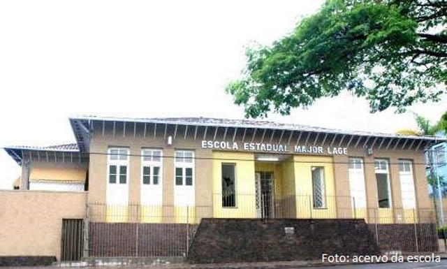 Escola Estadual Major Lage, das mais tradicionais de Itabira, escalada para a volta às aulas presenciais (Foto: Acervo da Escola)