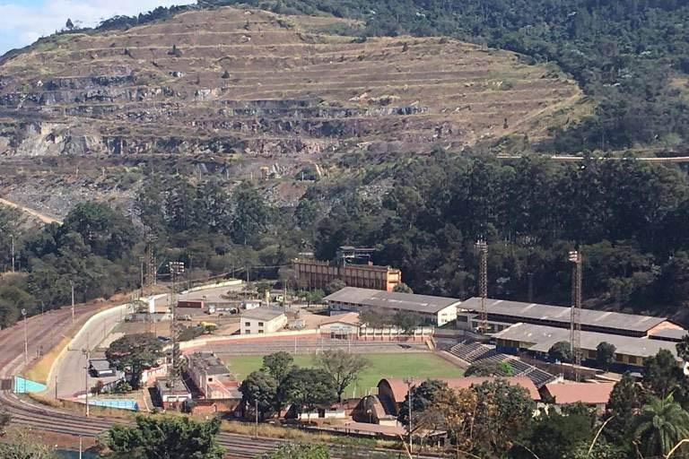 """Mina da Vale em Itabira como exemplo de incentivo para início da """"Rota da Esperança em Minas"""" do presidente Vetão (Foto: Arquivo)"""